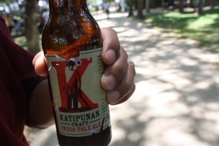 Papa tried this Katipunan Indio Pale beer. it passed his standards